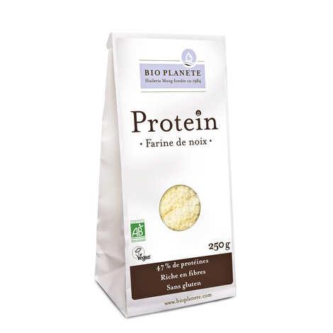 BioPlanète - Farine de noix bio sans gluten - Gamme Protéin