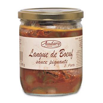 Audary Castelnaudary - Langue de bœuf sauce piquante