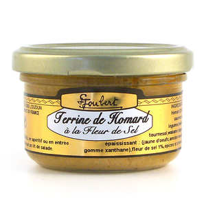 Maison Joubert - Lobster Terrine with Sea Salt