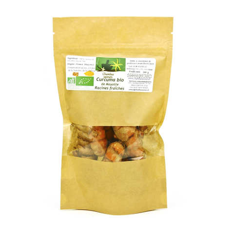 Chambas Saveurs - Organic Fresh Turmeric Roots from Mayotte