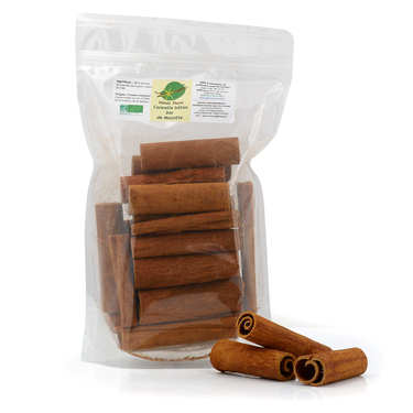 Organic Cinnamon Sticks from Mayotte