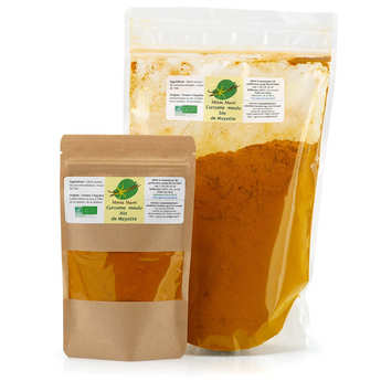 Chambas Saveurs - Organic Turmeric Ground from Mayotte