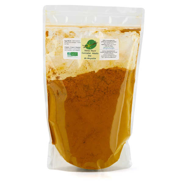 Organic Turmeric Ground from Mayotte