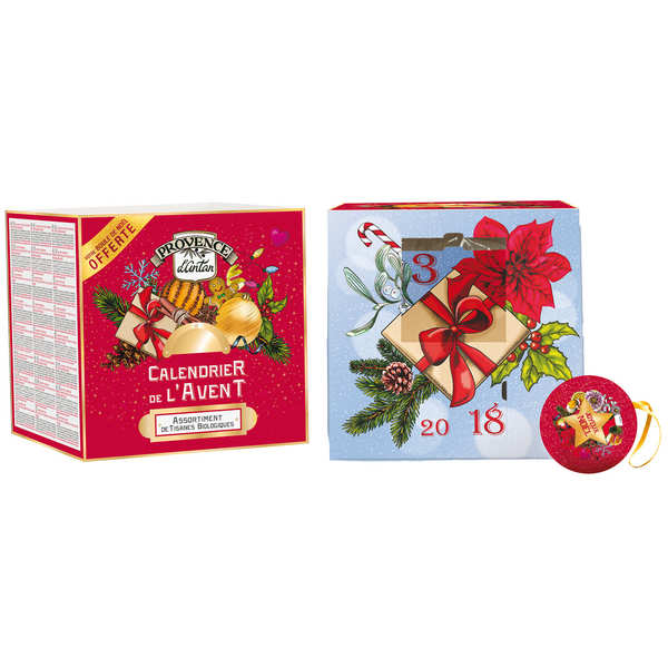 Organic Herbal Tea Advent Calendar - Provence d'Antan