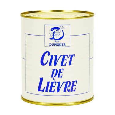 Civet de lièvre au vin