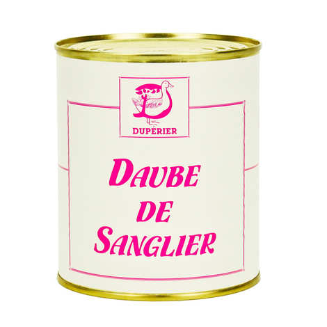 Duperier et fils - Boar Daube with Wine from Tursan