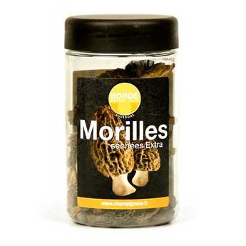 Borde - Morilles extra séchées