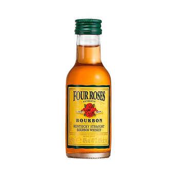Four Roses Bourbon - Sample bottle of Bourbon - Four Roses Kentucky Straight 40%