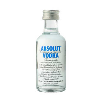 Absolut - Mignonnette de Vodka - Absolut 40%