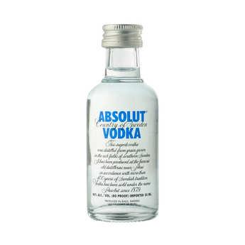 Absolut - Sample bottle of Vodka - Absolut 40%