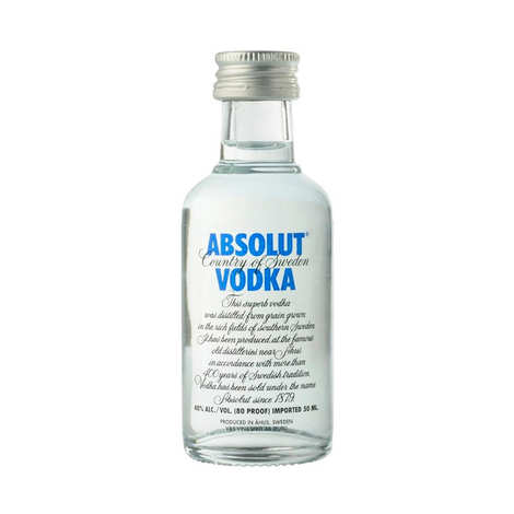 Absolut - Mignonnette de Vodka - Absolut 40%