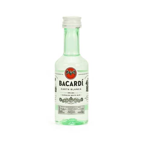 Bacardi - Mignonnette de Bacardi Carta Blanca 40%