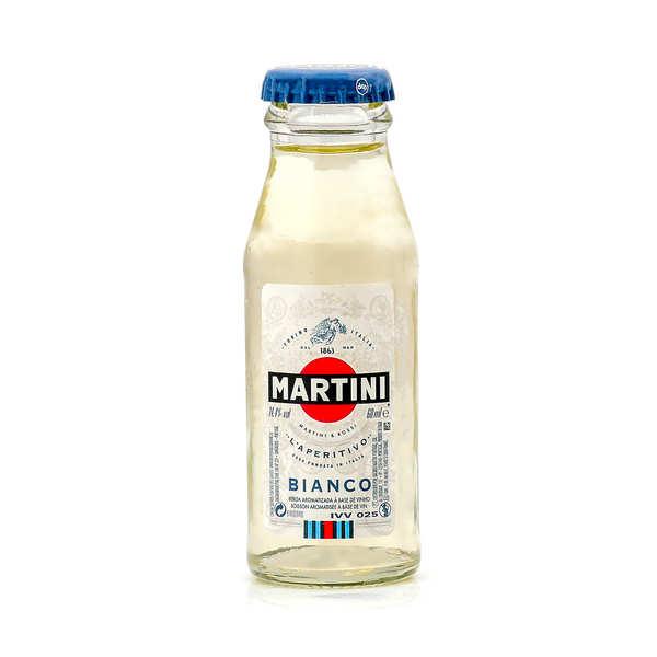 Sample bottle of Martini Bianco 14,4%