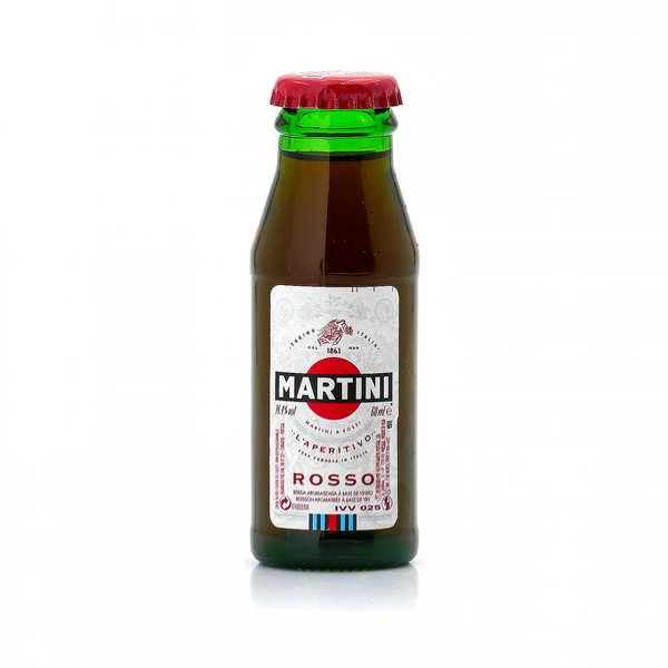 Sample bottle of Martini Red 14,4%
