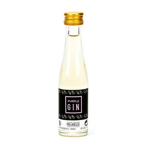 Grandes Distilleries Peureux - Sample bottle of Pvrple Gin® - French Gin 40%