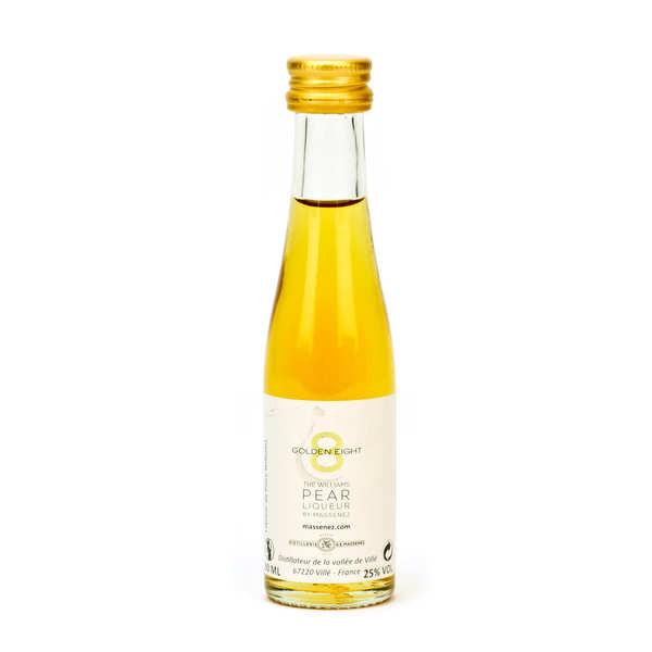 Mignonnette de liqueur de poire Williams - Golden eight 25%