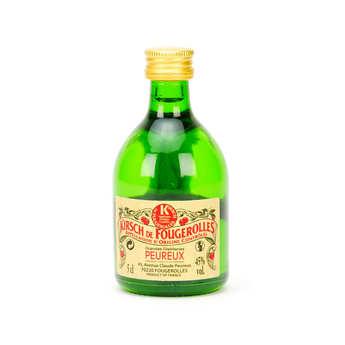 Grandes Distilleries Peureux - Sample bottle of Kirsch de Fougerolles - 45%
