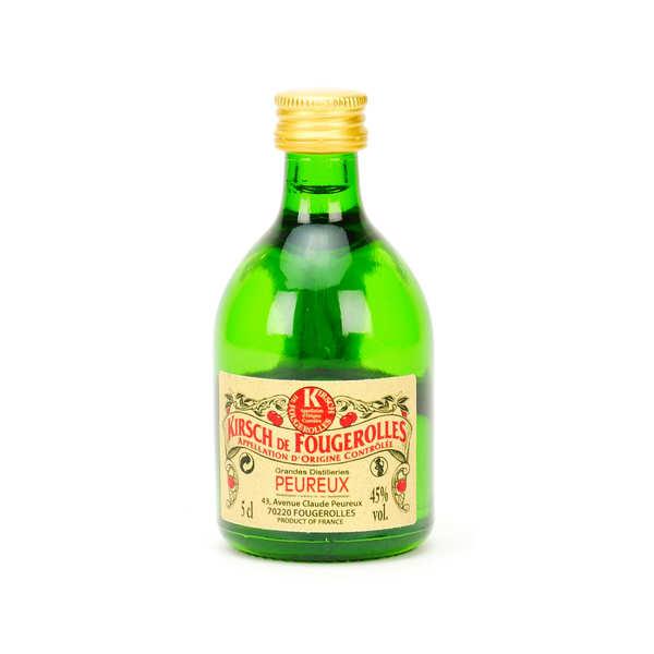 Sample bottle of Kirsch de Fougerolles - 45%