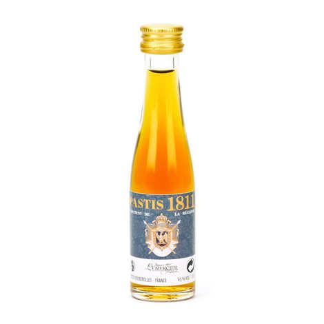 Grandes Distilleries Peureux - Sample bottle of Pastis - 1811 45%