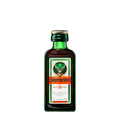 Jägermeister - Sample bottle of Jägermeister Liqueur 35%