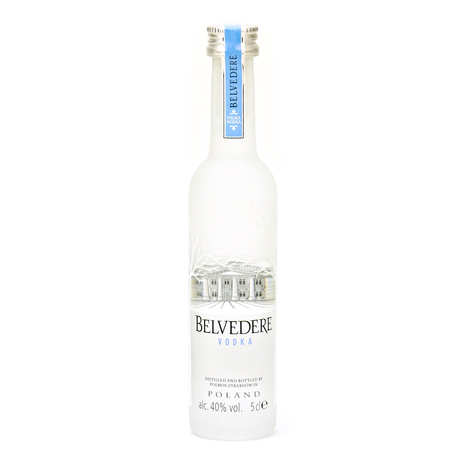 Belvedere - Sample bottle of Belvedere Polish Vodka 40%