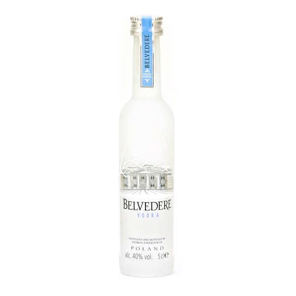 Sample bottle of Belvedere Polish Vodka 40%
