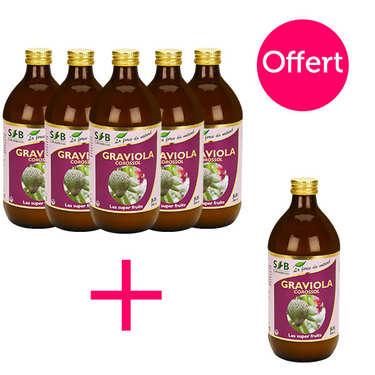Pur jus de graviola (corossol) - 5 + 1 offert