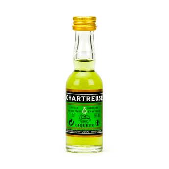 Les caves de la Chartreuse - Sample bottle of Green Chartreuse 55%