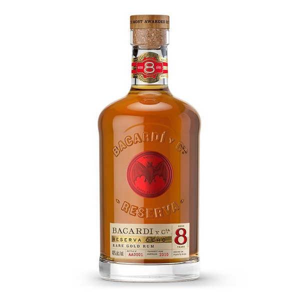 Bacardi Rum 8 años 40%