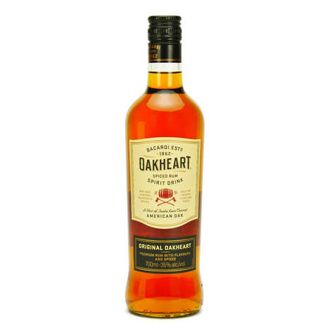 Bacardi - Rhum Bacardi Oakheart - Spiced rhum 35%
