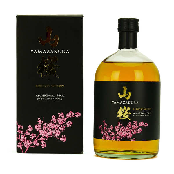Whisky japonais Yamazakura Blended 40%