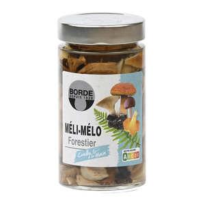 Borde - Panier gourmand de champignons en conserve