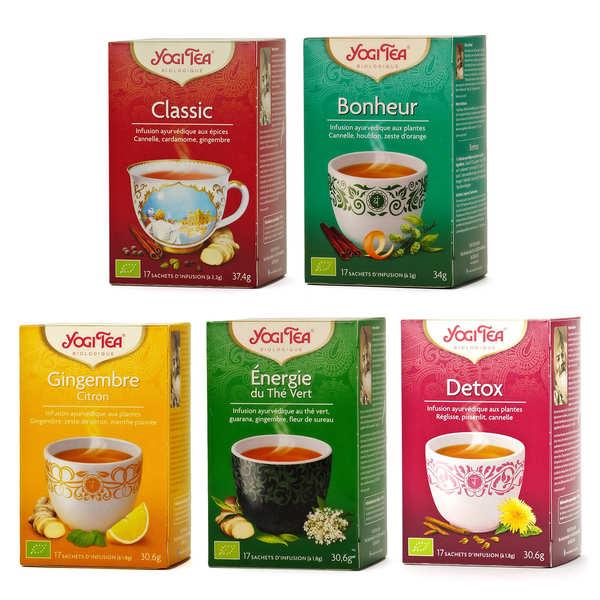Offre découverte infusions ayurvédiques bio Yogi Tea