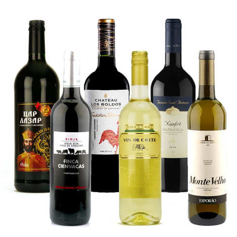 - Wines of the world collection
