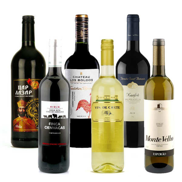 Wines of the world collection