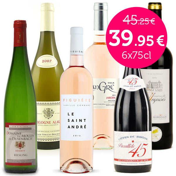 Collection tour de France des vins