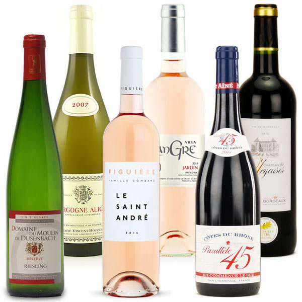 Wines of France collection