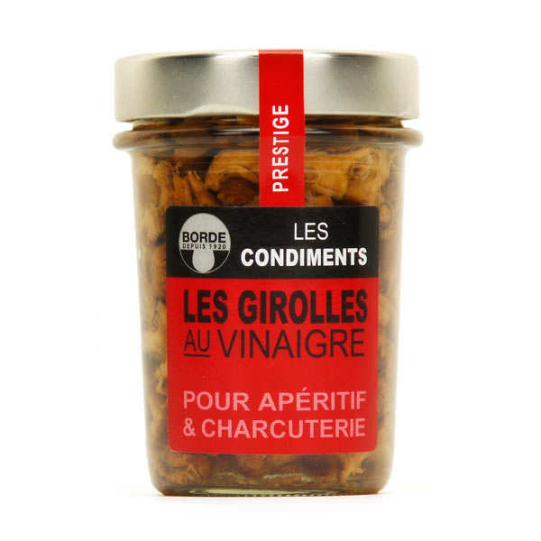 Small Chanterelles in Vinegar
