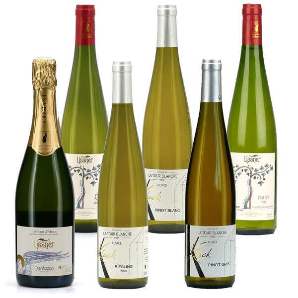 Collection vins d'Alsace