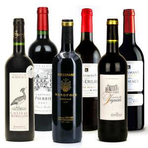 BienManger paniers garnis - Collection vins de Bordeaux