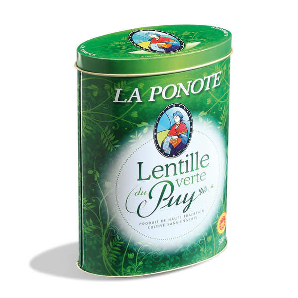 Green Lentils from Le Puy