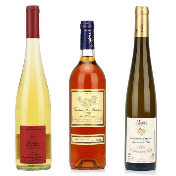 Late harvest wines collection