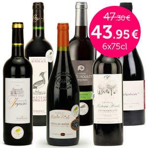 BienManger paniers garnis - Collection vins rouges médaillés