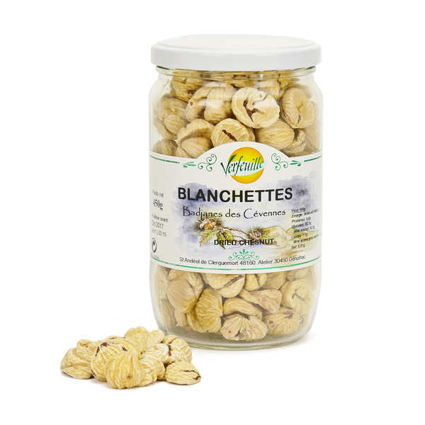 Dried Chestnuts - Blanchettes