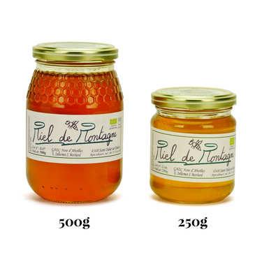 Miel de montagne de Haute Loire bio
