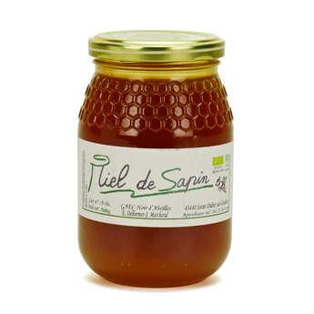 GAEC Noir d'Abeilles - Miel de sapin de Haute Loire bio