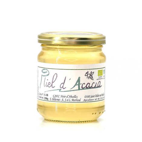 GAEC Noir d'Abeilles - Organic Acacia Honey from Haute Loire