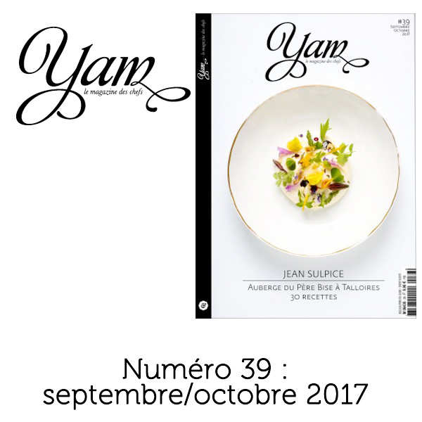 French magazine about cuisine - YAM n°39