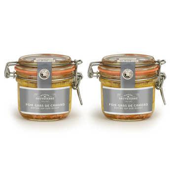 Maison Sauveterre - Set of 2 Whole Duck Foie Gras from South-West France