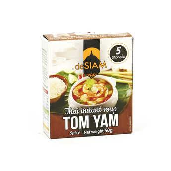 deSIAM - Préparation pour soupe instantanée thaï tom yam